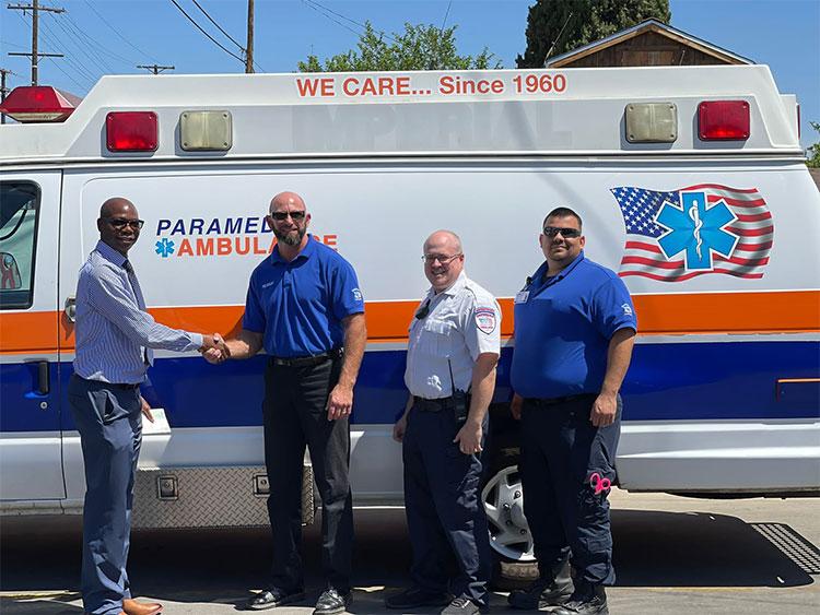 imperial ambulance taaimaka donation